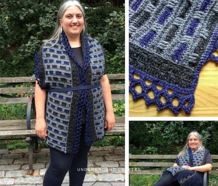 Crochet Phoenix Wrap - The Underground Crafter