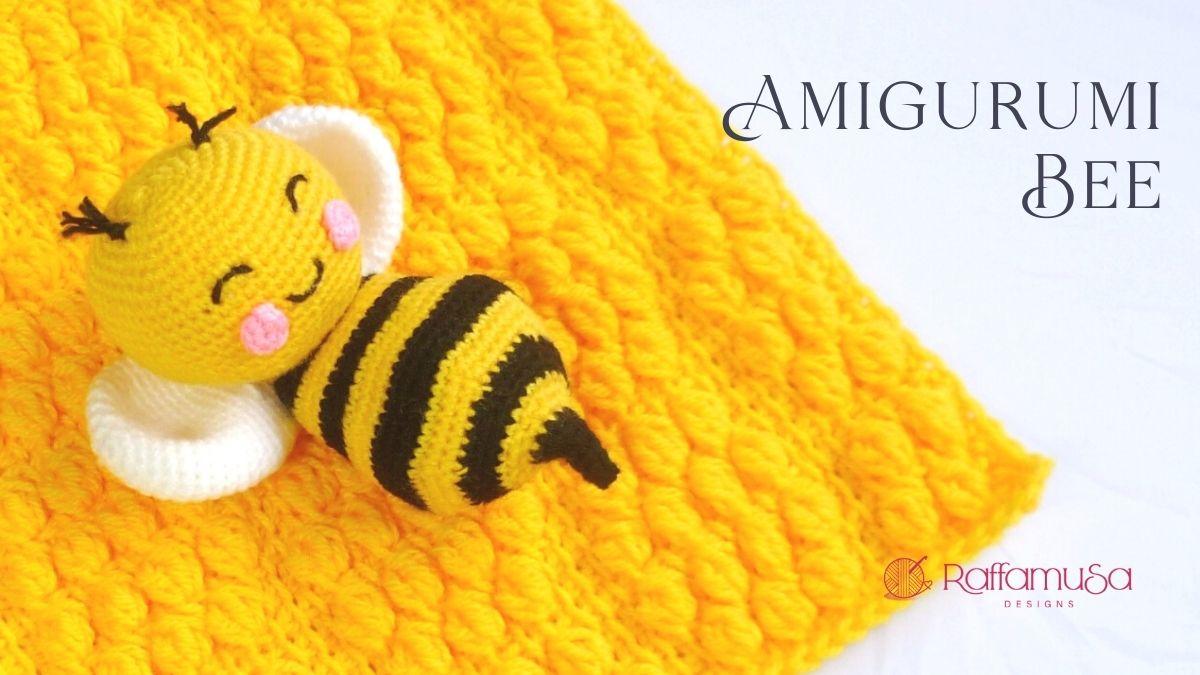 Amigurumi Bee - Free Crochet Pattern - Raffamusa Designs