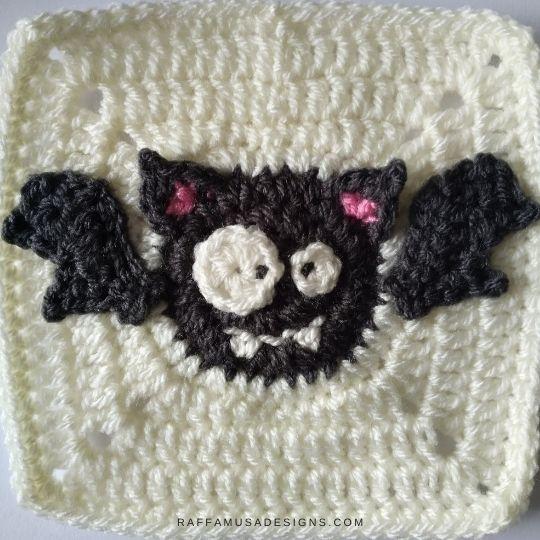 Bat Granny Square