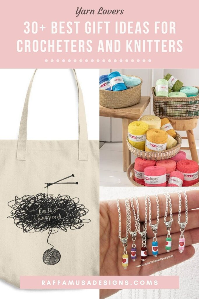 Pin the 30+ best gift ideas for yarn lovers to your favorite Pinterest board!