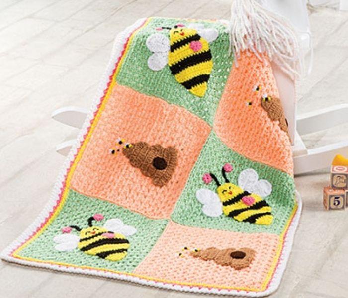 Bumblebee Blanket - Annie's Catalog