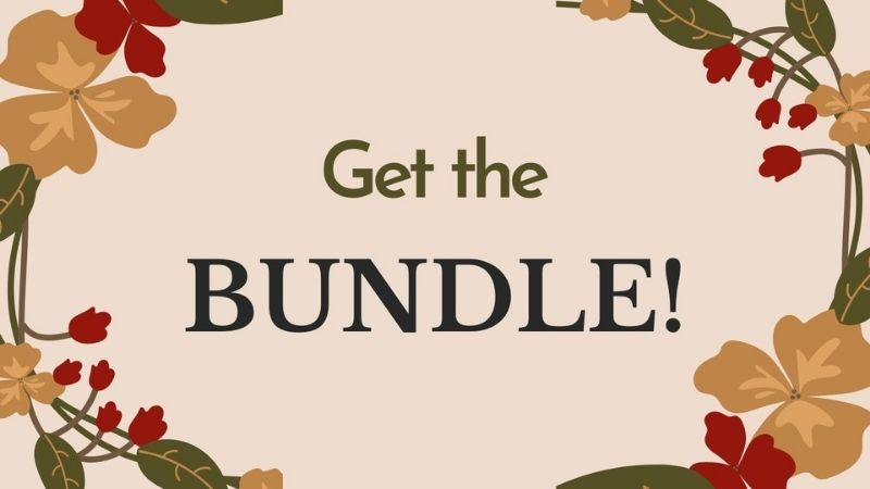 Shades of Autumn Bundle - Made by Gootie