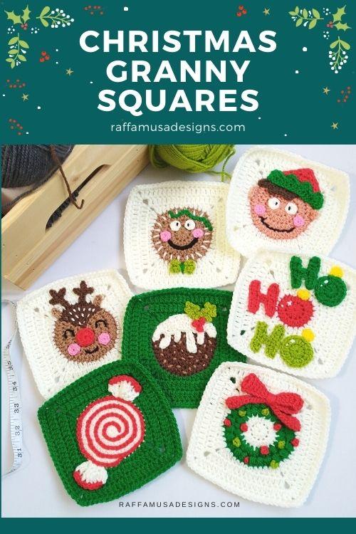 Christmas Granny Squares CAL