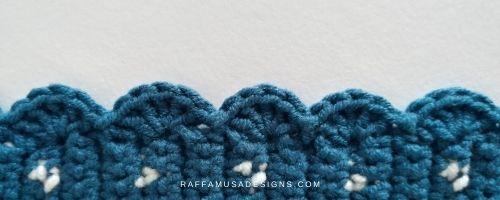 Shell or Scallop crochet border