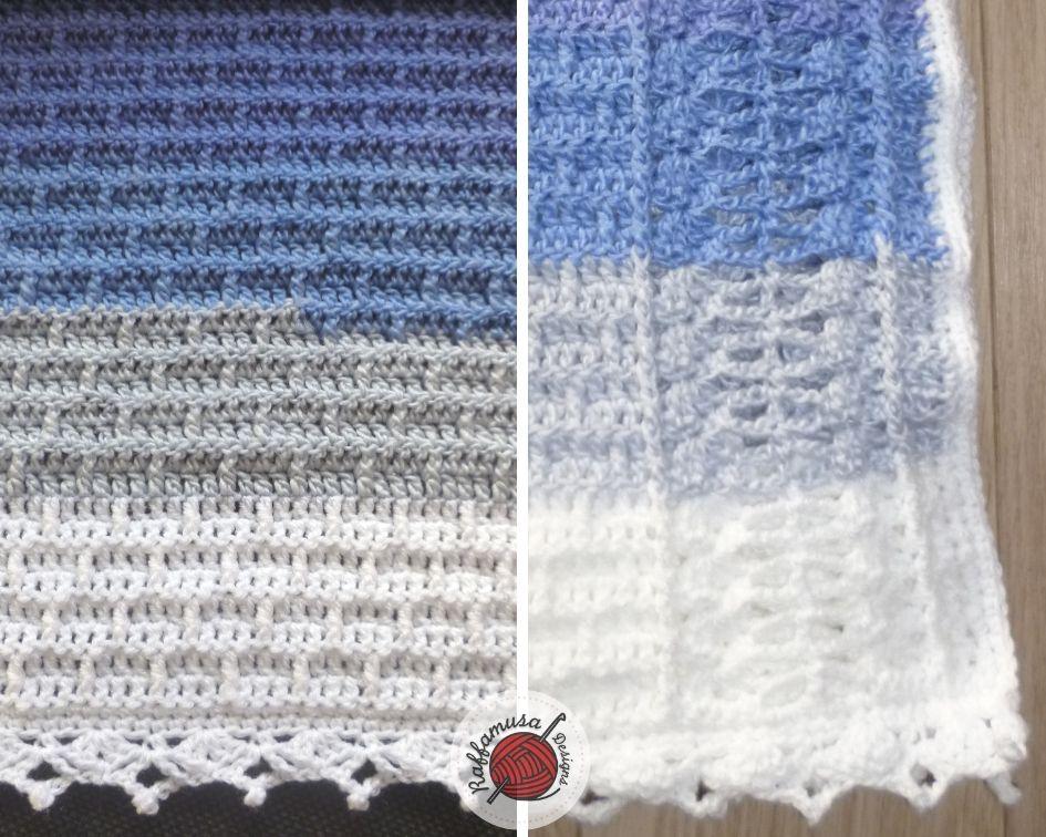 Border of the Crochet Charity Blanket