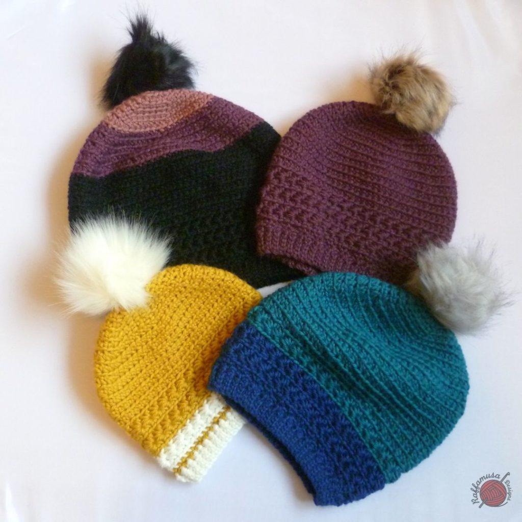 Crochet Star Stitch Beanie