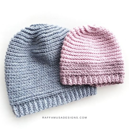 Crochet Sweet Baby Hat - Free Pattern - Raffamusa Designs