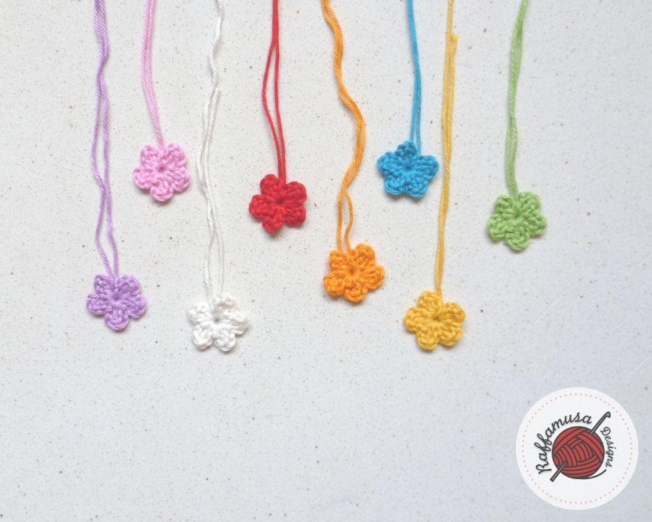 Easy Flower Applique Free Crochet Pattern