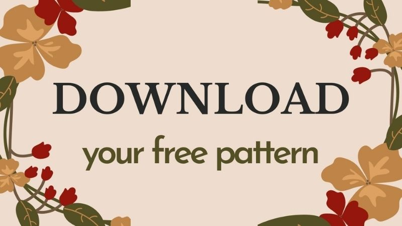Shades of Autumn Blog Hop - Free Pattern Button - Made by Gootie