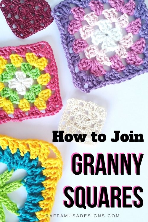 10 ways to join granny squares