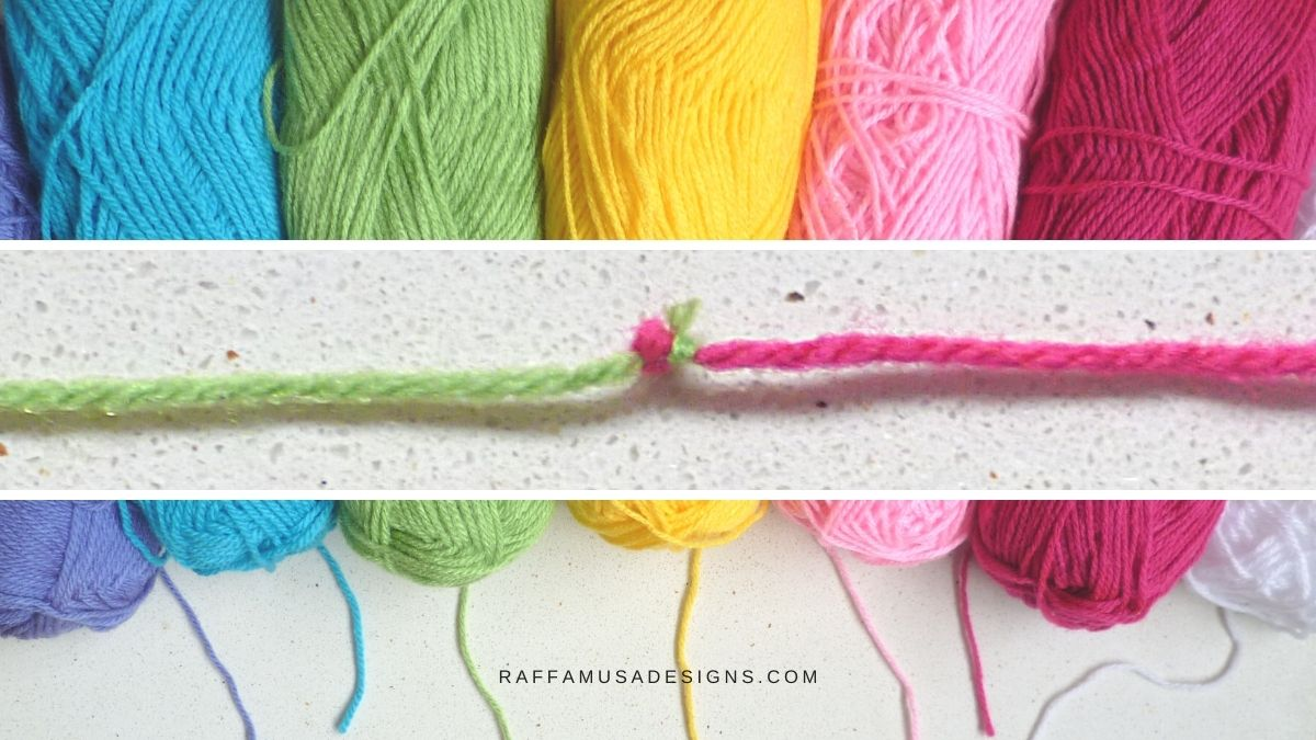 How to Join Yarn with the Magic Knot -Free Tutorial - RaffamusaDesigns