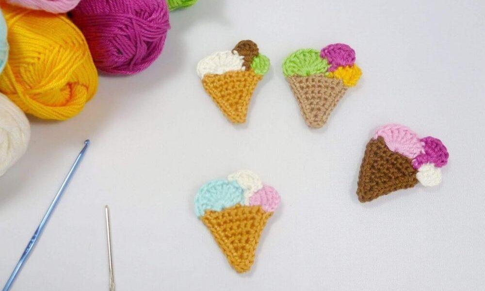 Big Ice Cream Cone amigurumi pattern by Super Cute Design | Kawaii ... | 600x1000