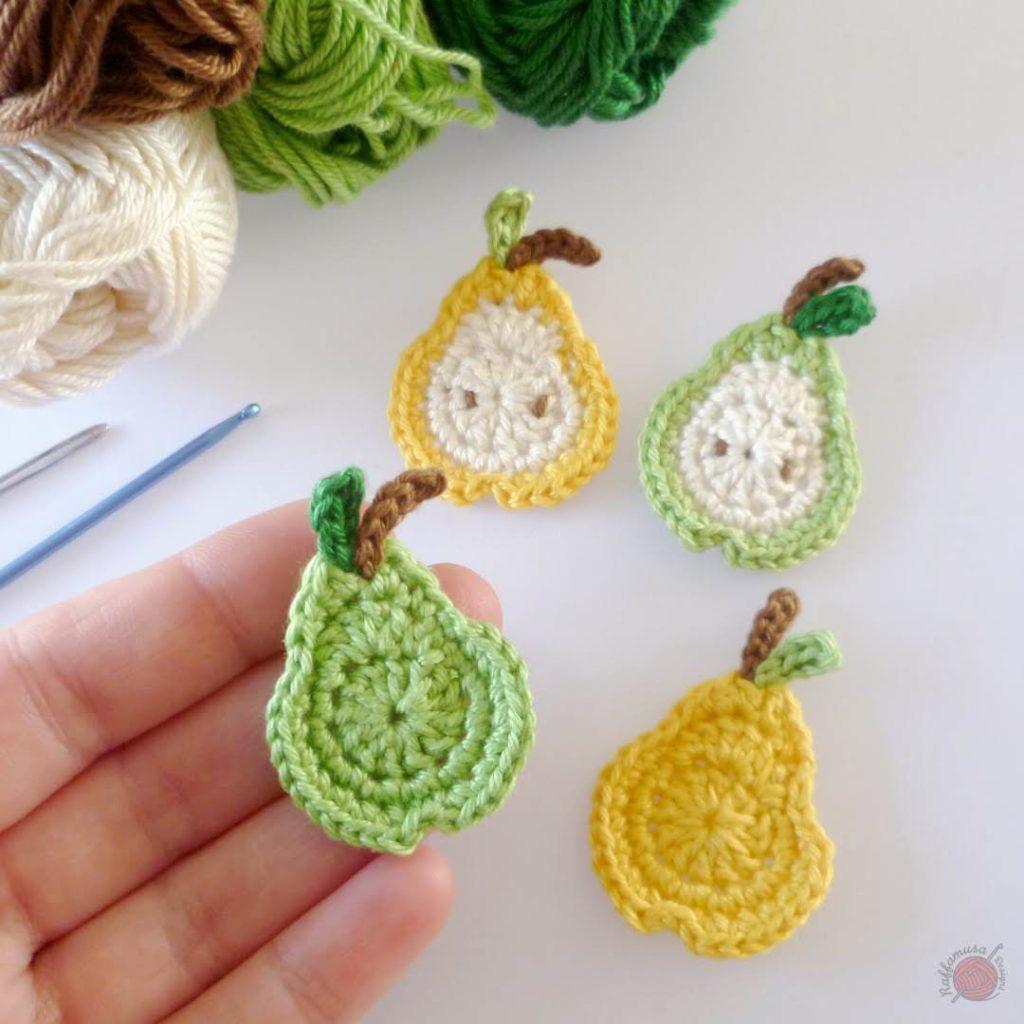 Little Pear Applique