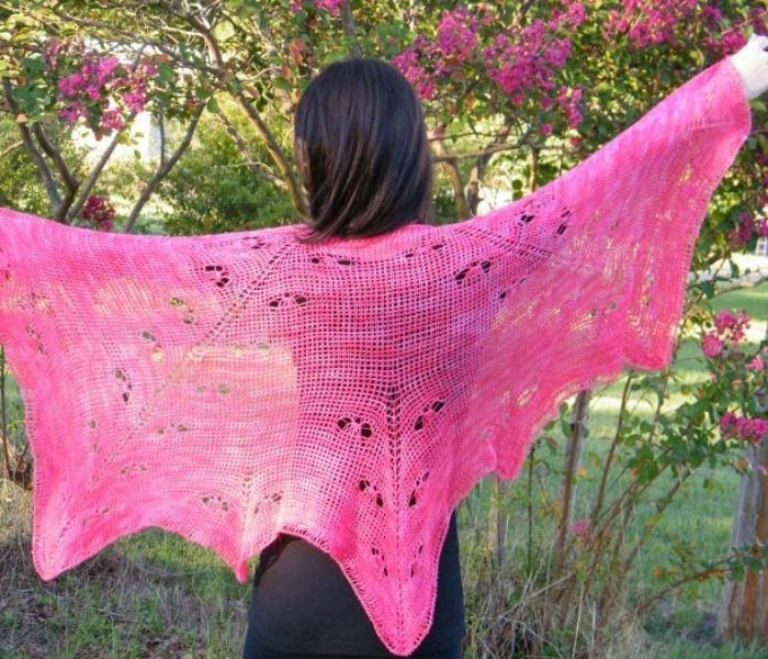 Mariposa Shawl by Crochet Kim