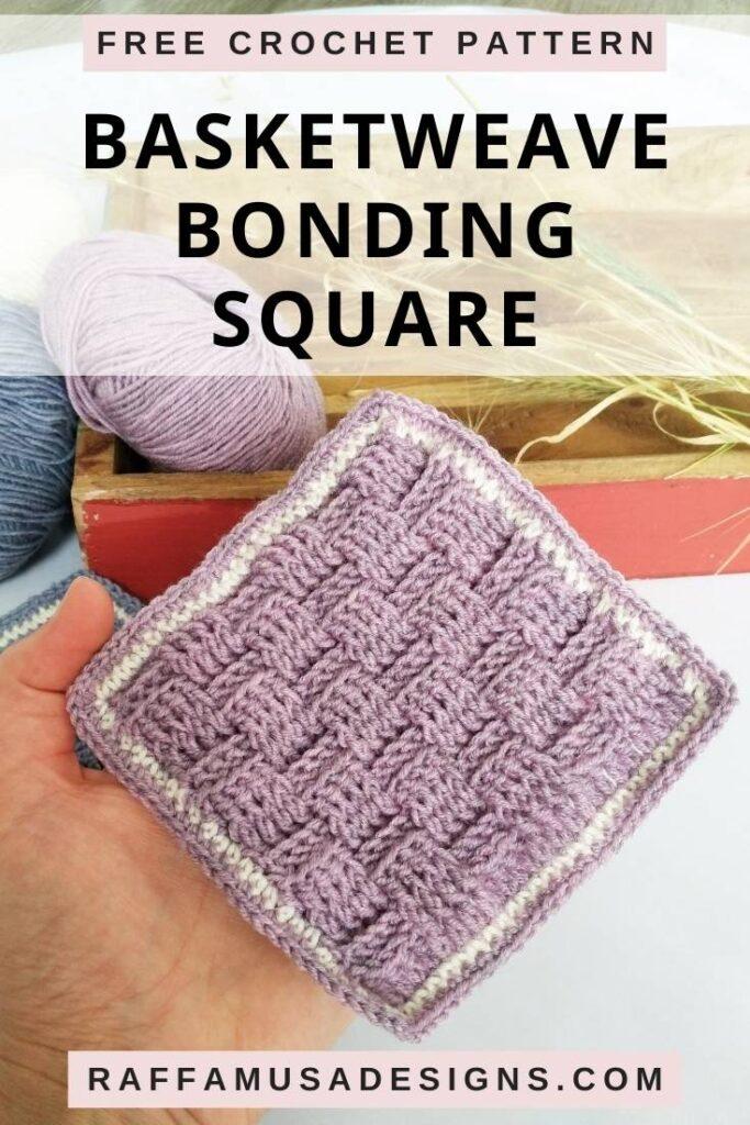 Basketweave Bonding Square - Free Crochet Pattern
