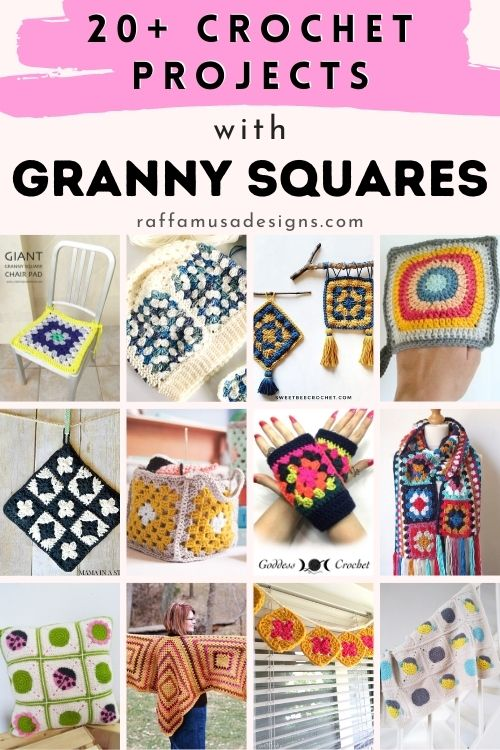 20+ Projects to Crochet with Granny Squares