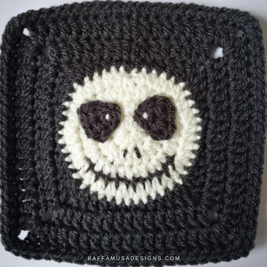 Skull Granny Square