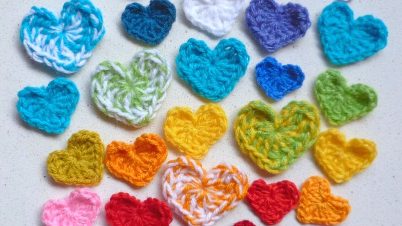 free pattern: little hearts! - a creative being | 720x1280