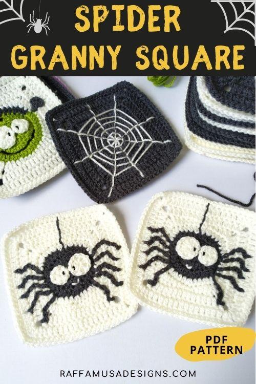 Spider Granny Squares