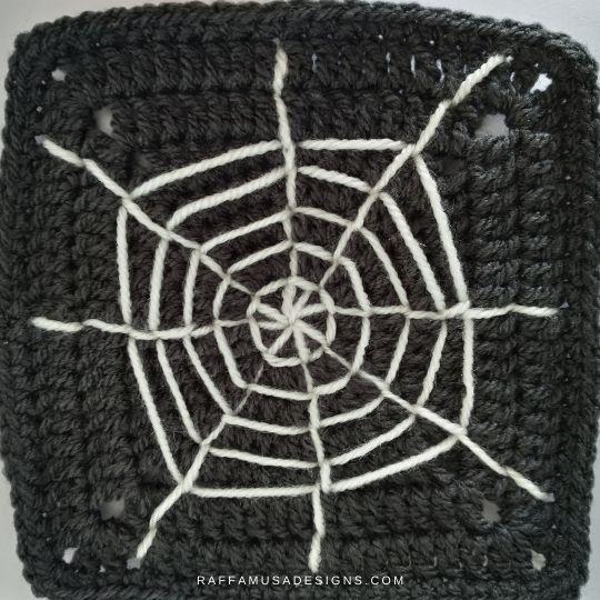 Spiderweb Granny Square