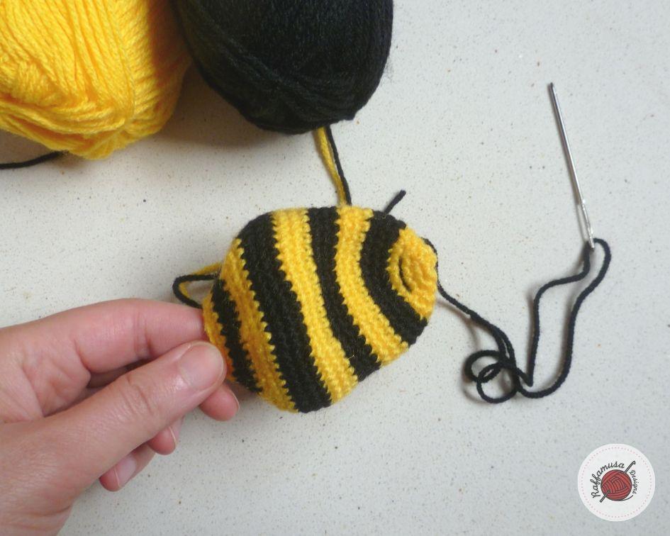 SET: Bee and beehive amigurumi pattern - Amigurumipatterns.net   756x945
