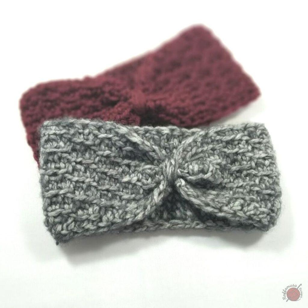 Tunisian Crochet Concept Headband