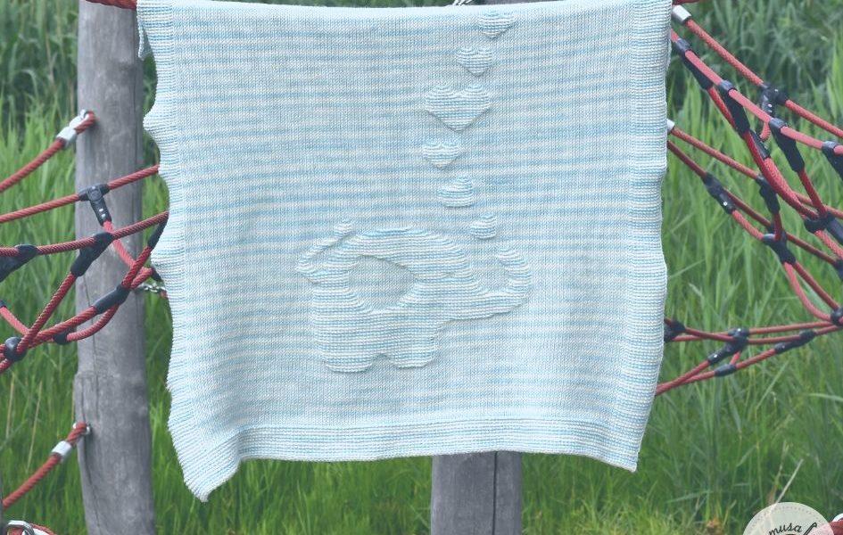 Penelope (Elephant) Crochet Blanket Pattern #filetcrochet in 2020 ... | 600x945