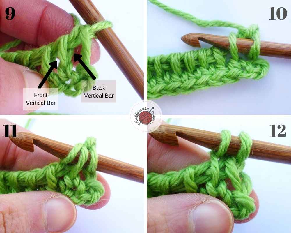 How to crochet the Tunisian Extended stitch, part 1