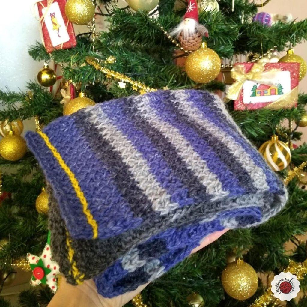 Tunisian Crochet Man Scarf