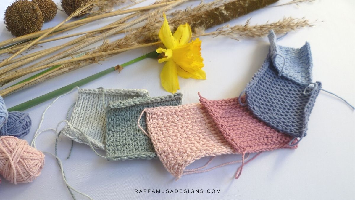 Tunisian or Afghan Crochet - All you ever wanted to know - Raffamusa Designs