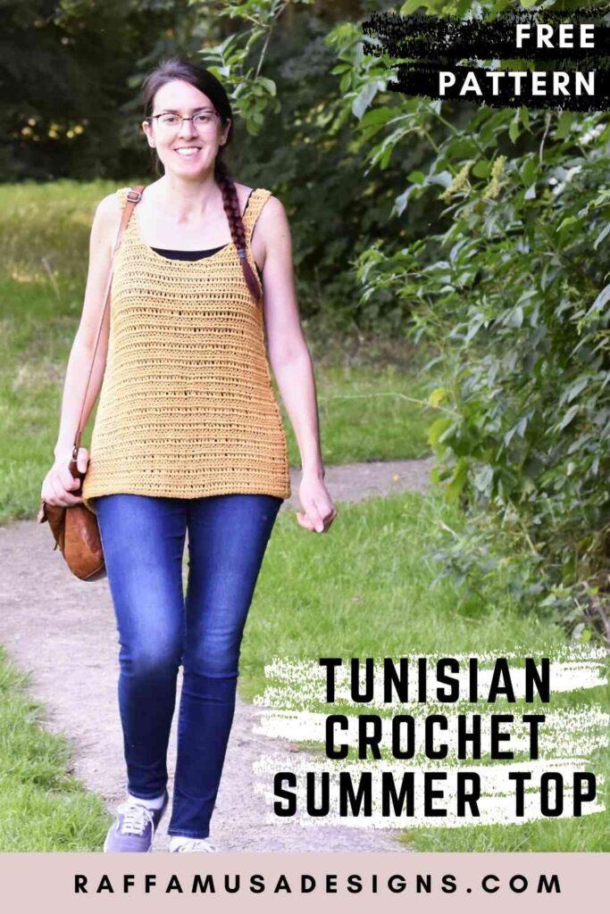Free Pattern - The Tunisian Crochet Summer Top