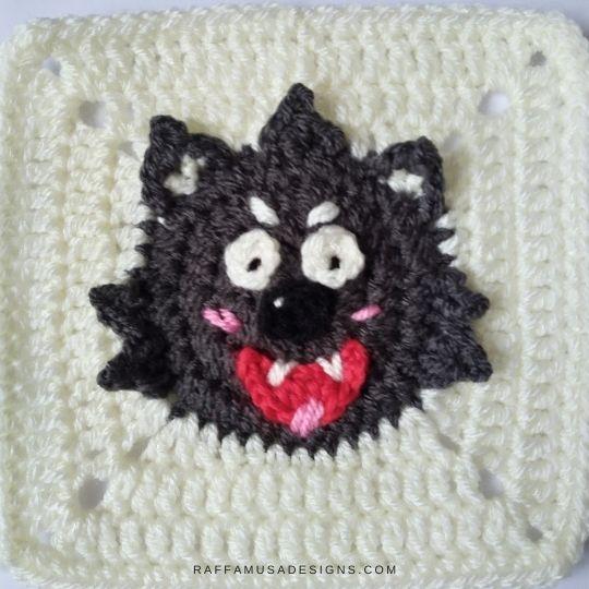 Werewolf Granny Square